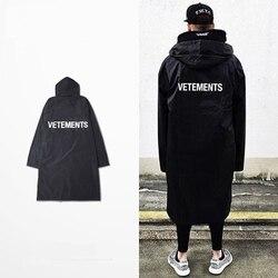 Street coat vetements fashion men s brand portfolio of god black rain kanye west yeezy yeezy.jpg 250x250