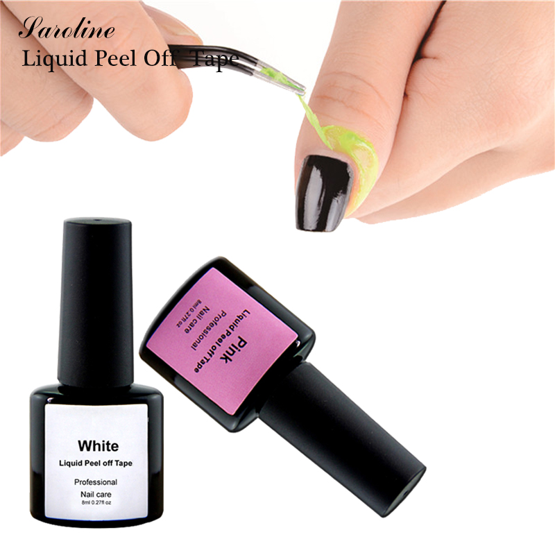 Manicure Protected Easily Flakes Around The Nails 8ML Easy Clean ...