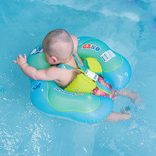 Baby Swimming Float Ring Children Waist Float Ring Inflatable Floats Pool Toys Swim Accessories for The Age of 3-36 Months 1 12 months infant swimming neck float donut pool floats for baby swim life buoy cycle swim tube ring float collar with gripper