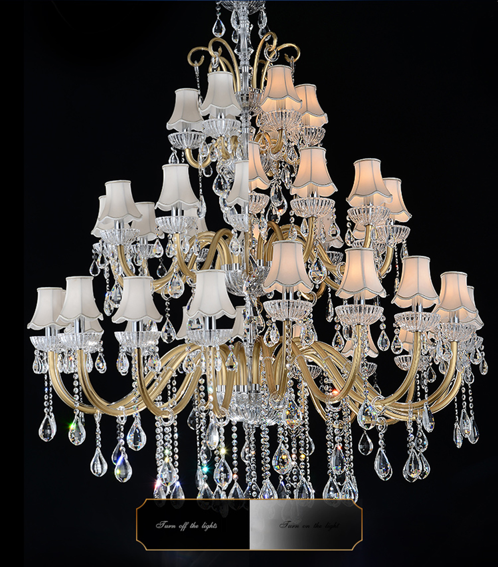 Luxury Large Chandelier Modern Sanctuary hall chandeliers with shade - Indoor Lighting - Photo 3