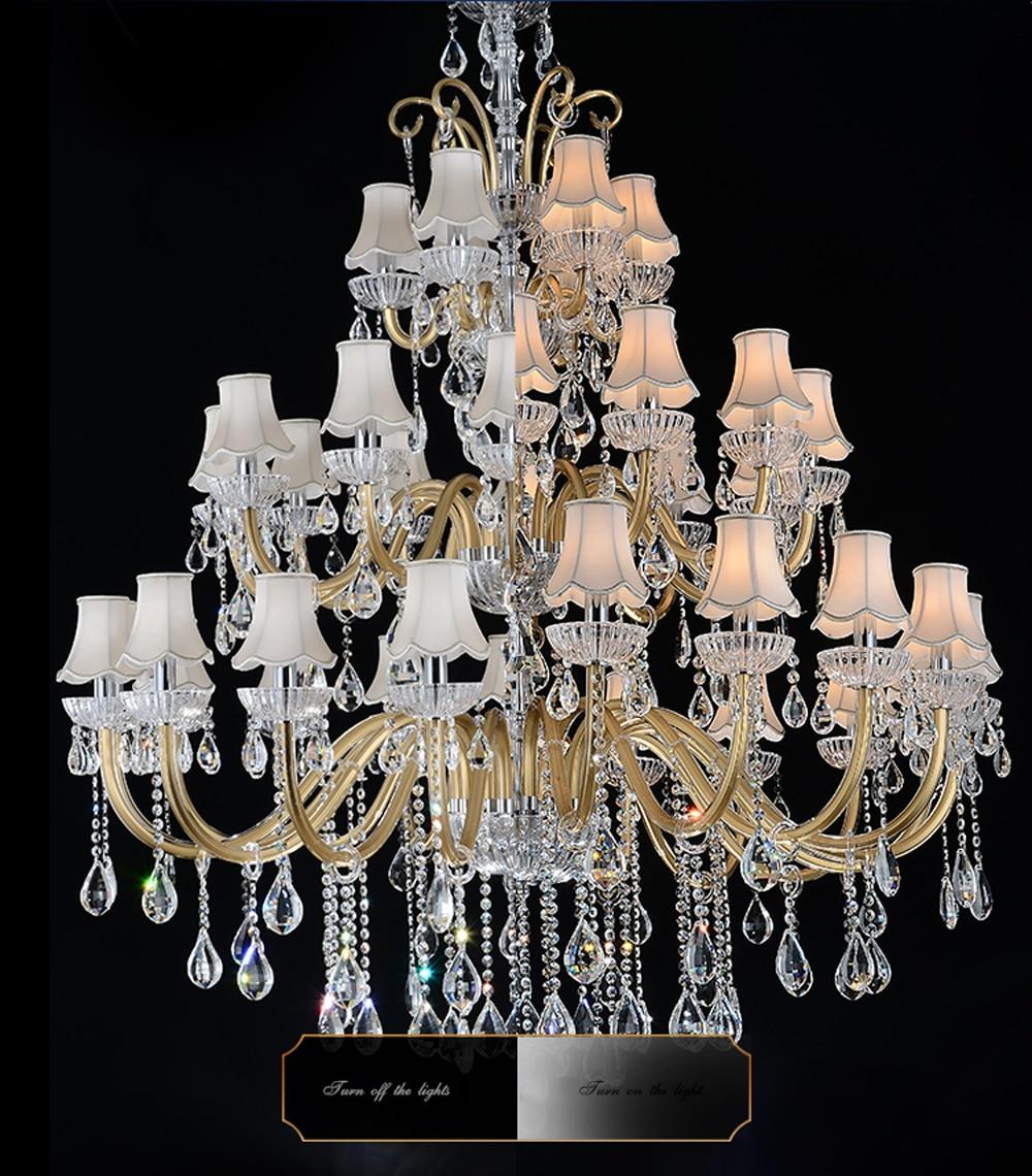 Луксозен голям полилей Модерен - Вътрешно осветление - Снимка 3