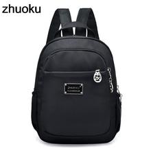 купить Mochila Feminina Mini Small Backpack for Teenage Girl Backpacks Bolsa Escolar Casual Nylon Waterproof Women Chest Bagpack 2018 по цене 851.26 рублей