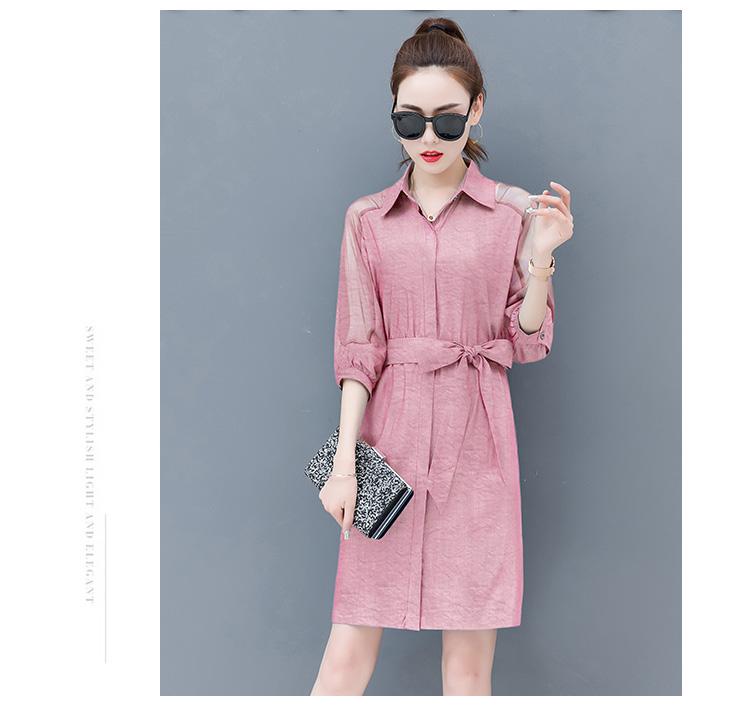 Dress female spring and autumn 2019 new fashion commuter slim strapless denim dress tide vestido Q280 17