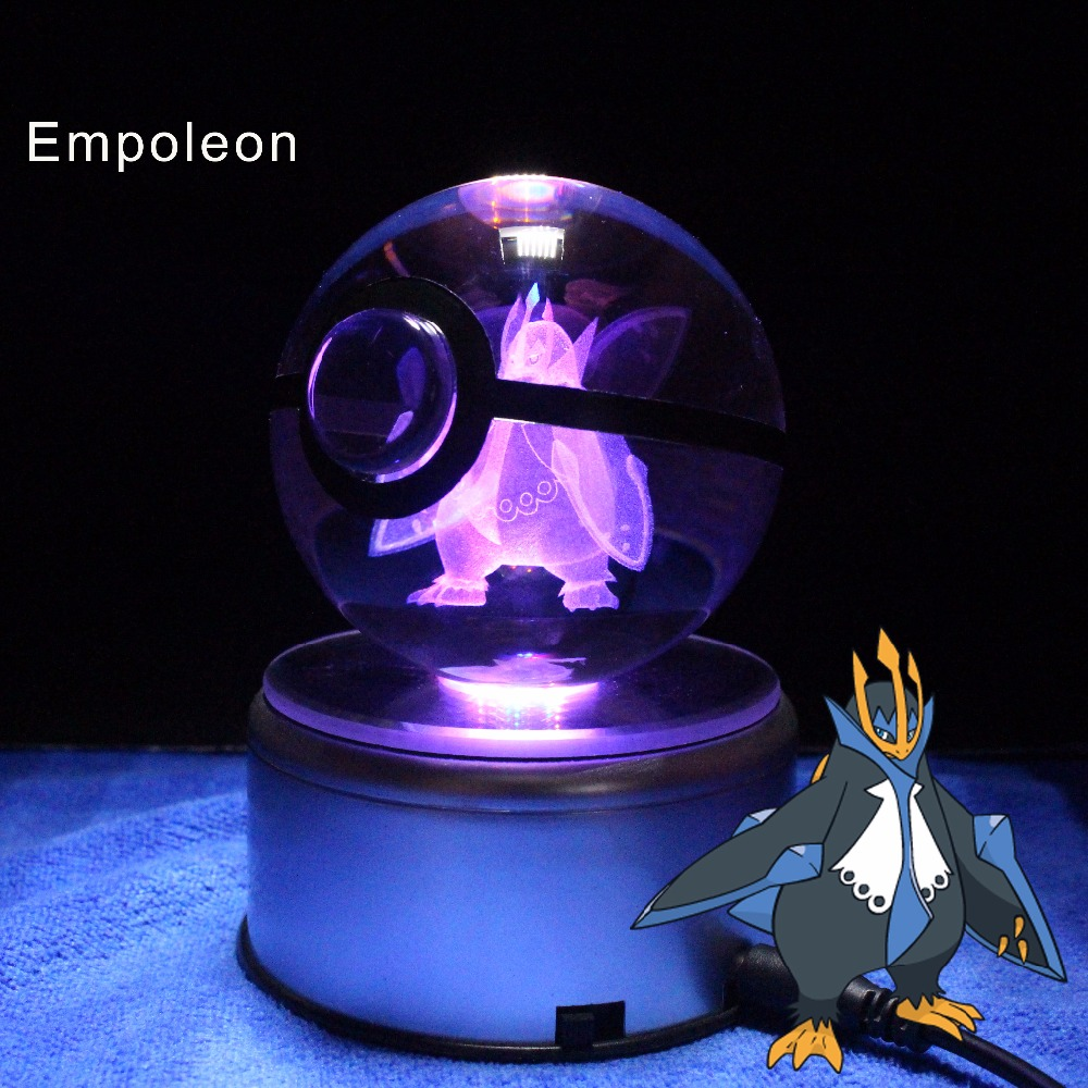 Best Gifts for Boyfriend Pokemon Go Game Anime Action Figures Empoleon pokeball