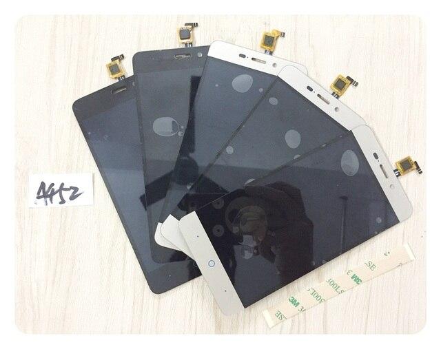100% testado preto/branco/ouro sensor de tela para zte blade x3 a452 display lcd com tela de toque digitador assembléia + 3 m adesivo
