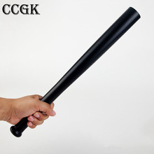 CCGK Outdoors Emergency LED Long Flashlight Rechargeable Self Defense Glare Flashlight Extended Baseball Bat Anti Riot Equipment