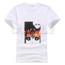 2019 harajuku short sleeve Tokyo Ghoul Kaneki Ken oggai / Sasaki graphic shirt men tshirts fashions Mens Clothing