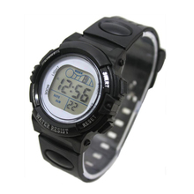 Perfect Gift  Fashion  Girl Boy LED Light Wrist Watch Alarm Date Digital Multifunction Sport  Levert Dropship Mar06