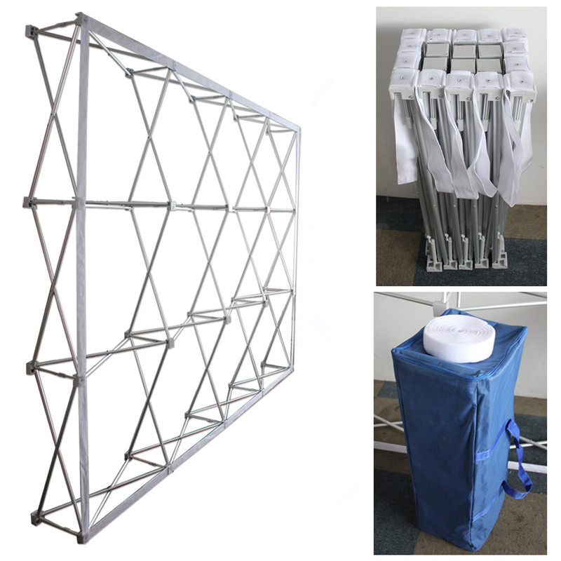 Bonne qualité en aluminium alliage fleur mur stand pilier cadre pour de mariage de fleur toile de fond parti décoration