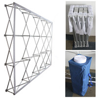 Good quality aluminium alloy flower wall stand pillar frame for wedding flower backdrop party decoration