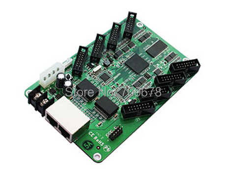 Colorlight 5A-75 Receiving Card with 8 pcs HUB75 Ports , Full Color LED Video Display  CLT Receiving Card