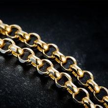 Новое поступление однотонное ожерелье из желтого золота au750