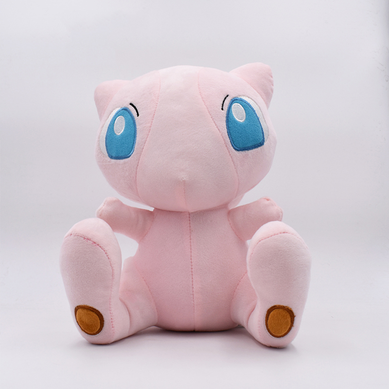 2018 Free Shipping Anime Character Mew Plush Peluche Toy Stuffed Animal Mewtwo Soft Doll 12