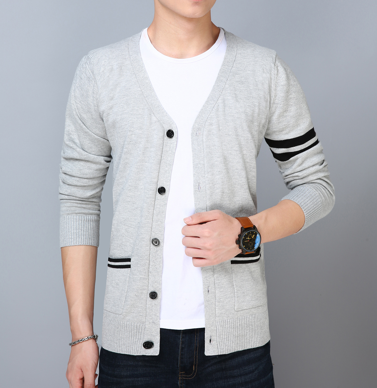 Sweaters Trustful Mrmt 2018 Brand New Mens Jackets Knitted Sweaters Cardigan Long Sleeve Overcoat For Male Sweaters Jacket Clothing Garment