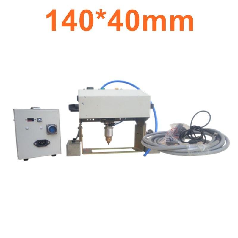 Machine de marquage automatique de numéro de série de Machine de gravure en métal de CNC pneumatique bon marché de 14040