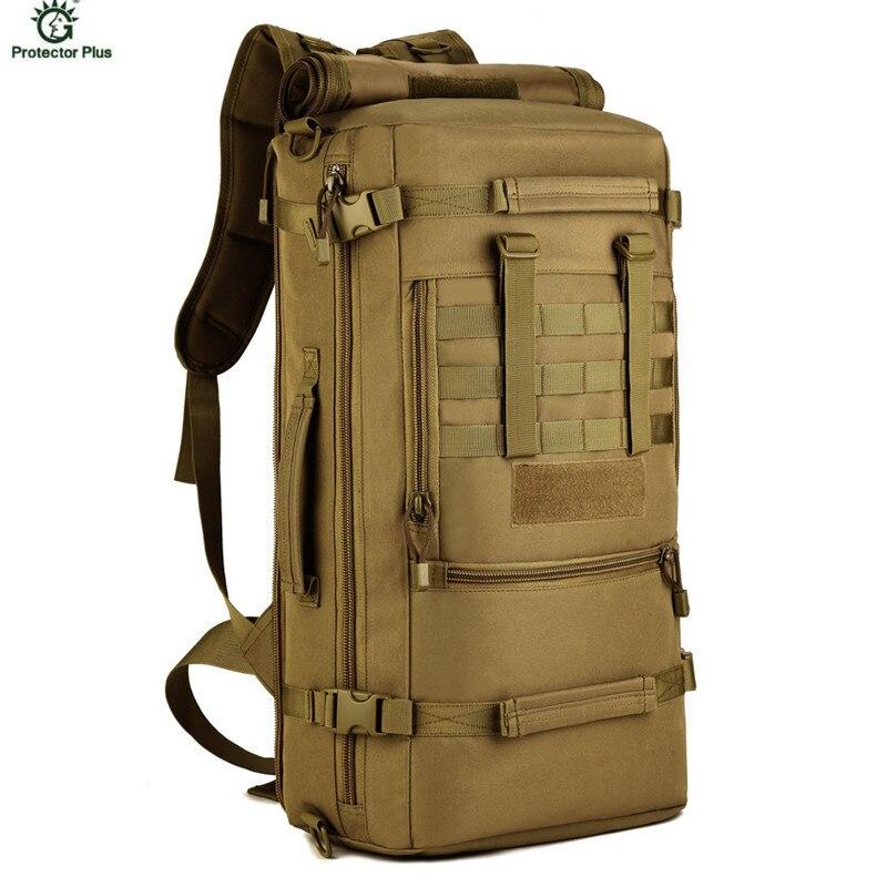 50L Sports de plein air Camping militaire tactique sac à dos pour randonnée voyage sac à dos alpinisme sac Molle S430