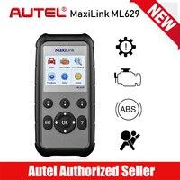 AUTEL MaxiLink ML629 OBD2 Scanner Car Code Reader Engine Transmission ABS SRS Airbag Diagnostic Tool Scaner PK Launch CRP123