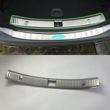 Car Accessories Interior Stainless Rear Inner Bumper Protector Scuff Plate Guard Cover Trim For Mercedes-Benz E Class 2016 стоимость