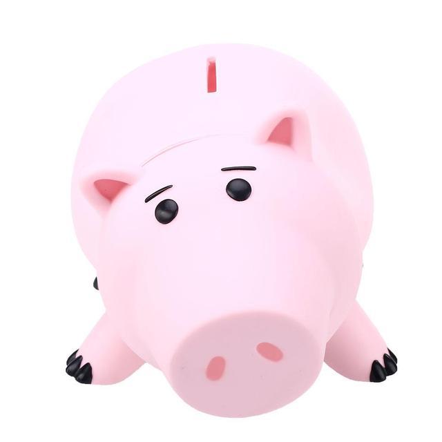 Piggy animais banco Saving Coin caixa de dinheiro 1 Pcs Toy Story Hamm Piggy de rosa banco porco Coin Money Box crianças grande presente