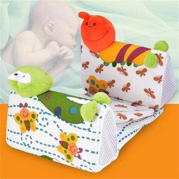 Baby Infant Newborn Cute Frog Cartoon Anti Roll Pillow Sleep Positioner Prevent Flat Head Cushion Side Sleeper Pro 1
