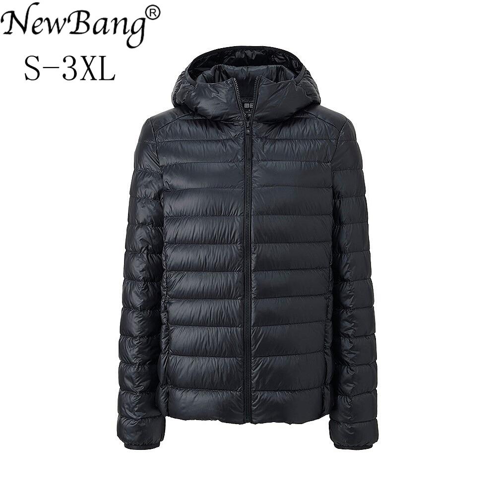NewBang Brand 6XL 7XL 8XL Womens Down Jacket Ultra Light Down Jacket Women Winter Windproof Feather Warm Coats Portable Parkas