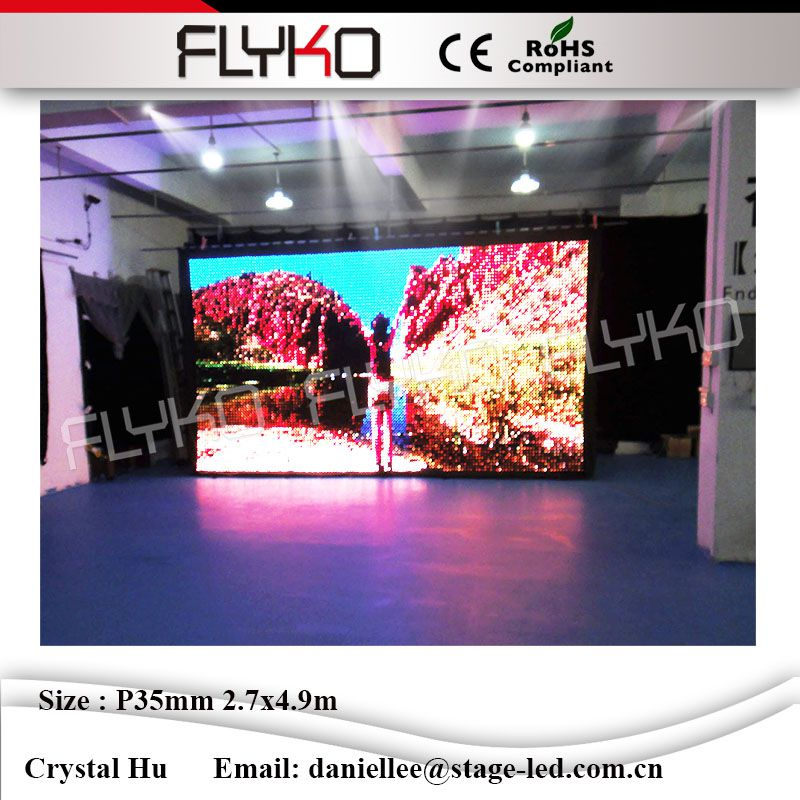 Flexible led video curtain backdrops rgb stage lighting event party night club dj led vi ...