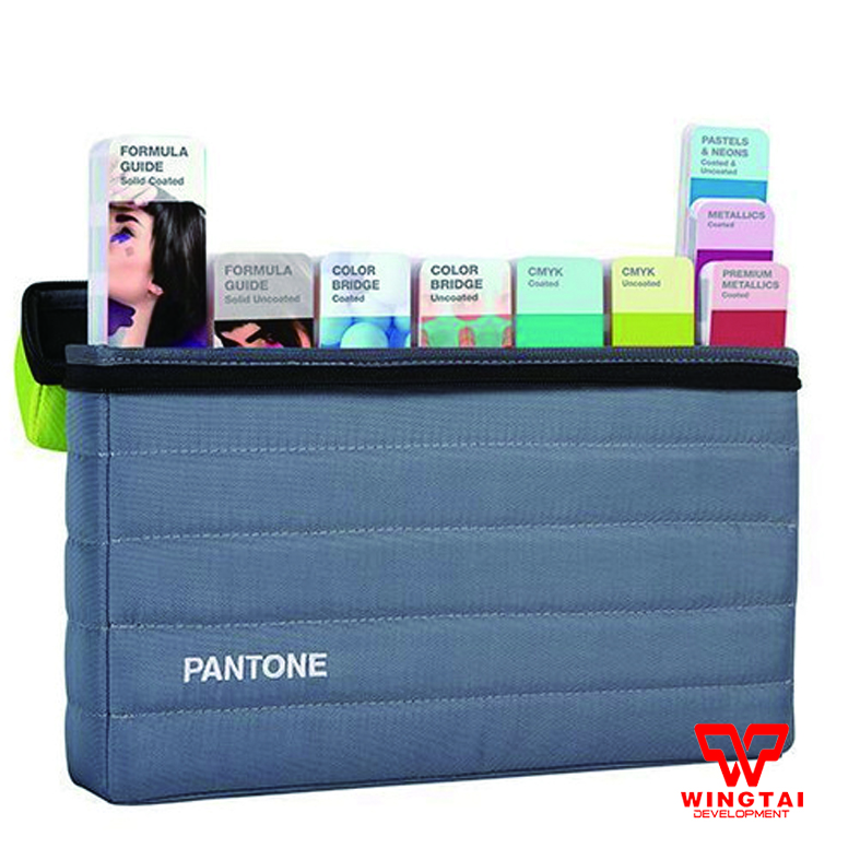 9 Books Pantone Plus Series Color Chart GPG304N Portable Guide Studio Color Guide Set original pantone plus series solid guide set gp1605n coated