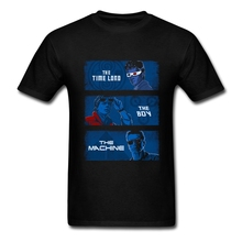 Personalised Tee Shirts Doctor who T Shirt Science Fiction TV Custom Short Sleeve Valentine's For Men Cool T-Shirt Big Size