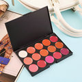 Multi-colored 15 Colors Makeup Palette Cosmetic Gloss Lipstick Lip of One Set