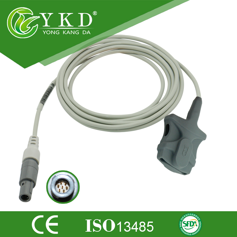 ФОТО Adult soft tip 7 pin for CSI module 3m cable of medical use sensor