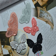 (5pieces/lot) 5 color Water soluble lace paste patches Wedding Bridal Embroidery Lace patch Sewing Lace Applique