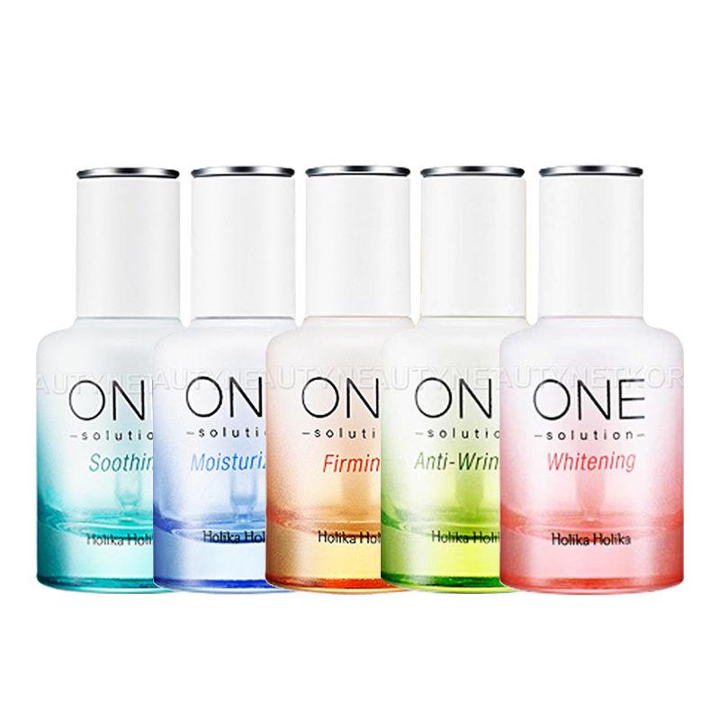 HOLIKA HOLIKA One Solution Super Energy Ampoule 5 Type Face Cream Skin Care Moisturizing Anti Wrinkle Whitening Korea Cosmetics