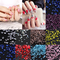 T2N2 1440pcs Many Colors Zircon Manicures Rhinestones Micro Crystal Mini Nail Art Phone Case Cloth Rhinestones Decation Craft