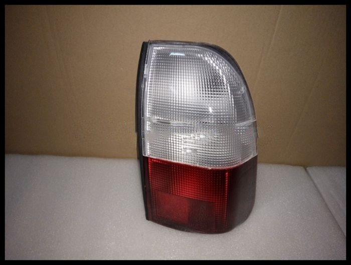 eOsuns LED warning light + brake light + turn signal rear bumper light reflector for Mitsubishi L200 1995