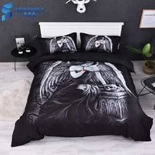 Starry Sky 2pcs/3pcs Bedding Set Digital Bohemia US Reactive Printing Duvet Cover Sets For Home 100% Polyester Soft