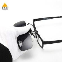 Велоспорт очки клип на поляризованные очки HD солнцезащитные очки водителя Ночное видение линзы анти UVA оттенки Для женщин Для мужчин очки