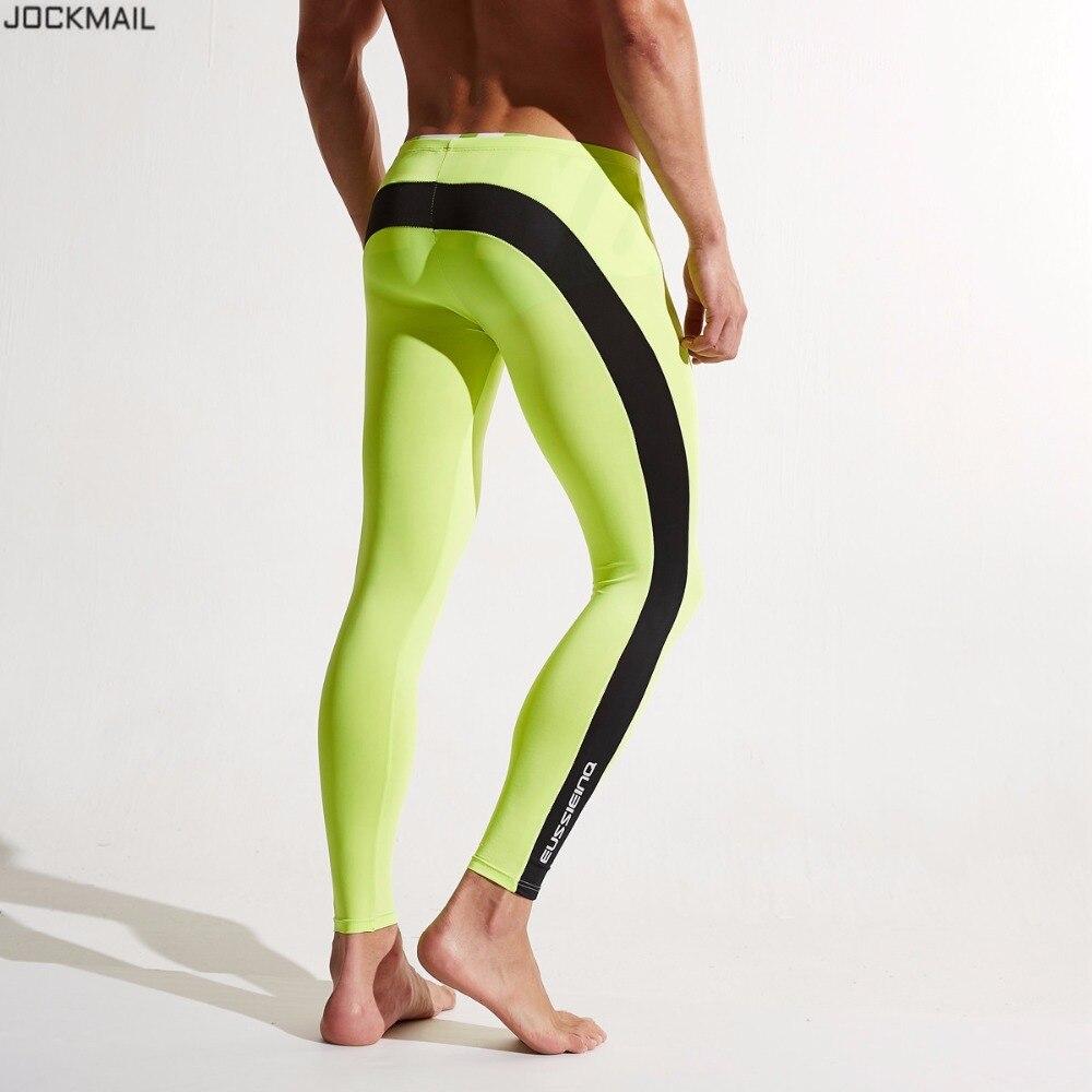 JOCKMAIL Brand Running Tights Men Jogging Sport Leggings GYM font b Fitness b font Compression Yoga