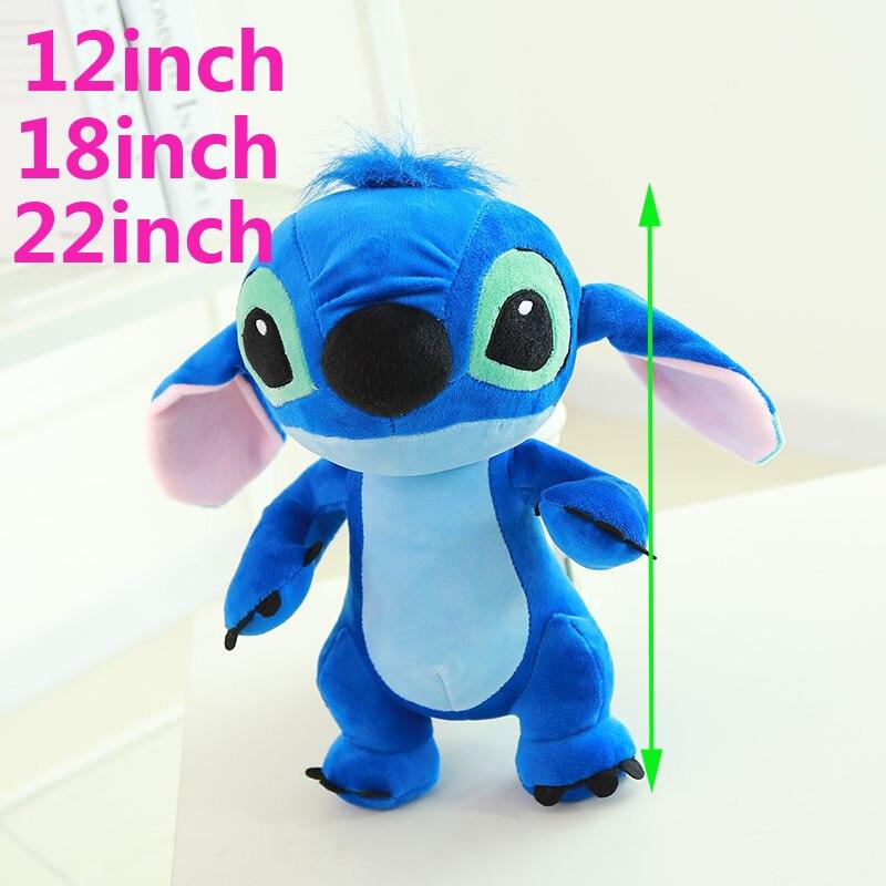 35-80 cm Géant Cartoon Stitch Lilo /& Stitch Plush Toy Doll Enfants en peluche