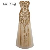 Złoty Olśniewająca Runway Długie Suknie Maxi Sukienka Sexy Party Wieczór Elegancki Off Shoulder Piętro H0004-822 Jurken Rocznika Vestido Longo