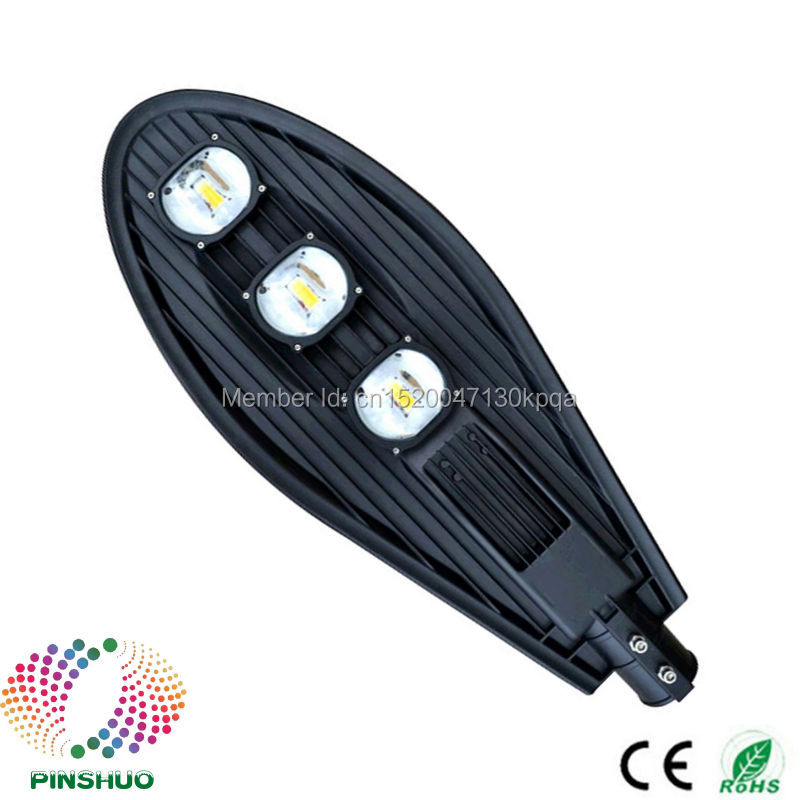 (4PCS/Lot) AC85-265V Warranty 3 Years Bridgelux Chip 150W LED Street Light Lamp Outdoor Industrial Garden Road Yard Lighting hot sale 110v 220v 60w led street lights led road light warranty 3 years led garden lamp ce rohs ip65 outdoor lighting 2 pcs lot