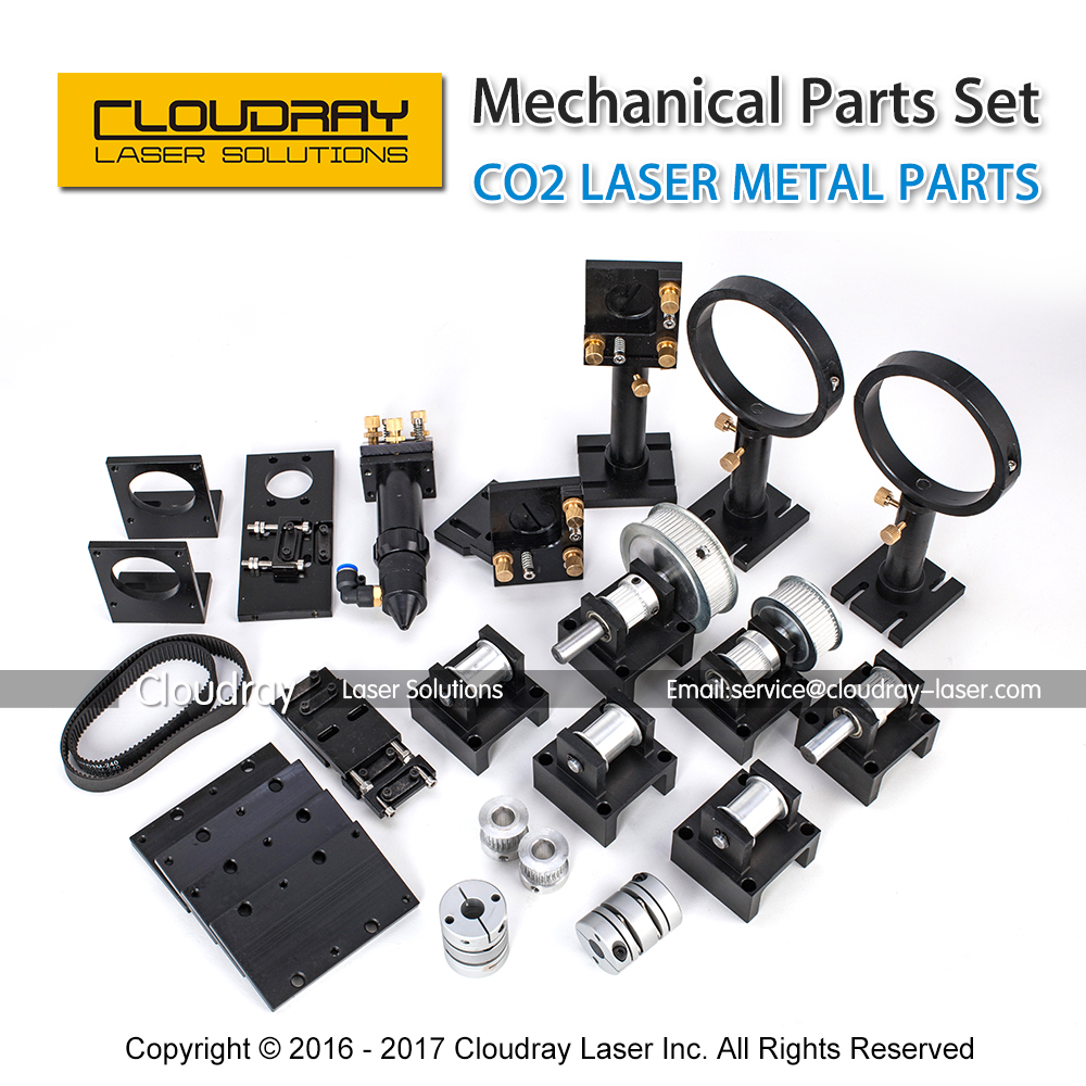 CO2 Laser Metal Parts Transmission Laser head Mechanical Components for DIY CO2 Laser CO2 Laser Engraving Cutting Machine co2 laser machine spare parts s