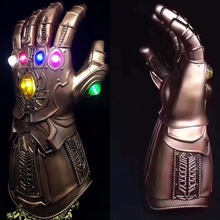 Thanos Infinity Gauntlet Avengers Infinity War 1:1 Gleamy Gloves Cosplay Superhero Avengers Thanos Glove Halloween Party Props avengers vs thanos