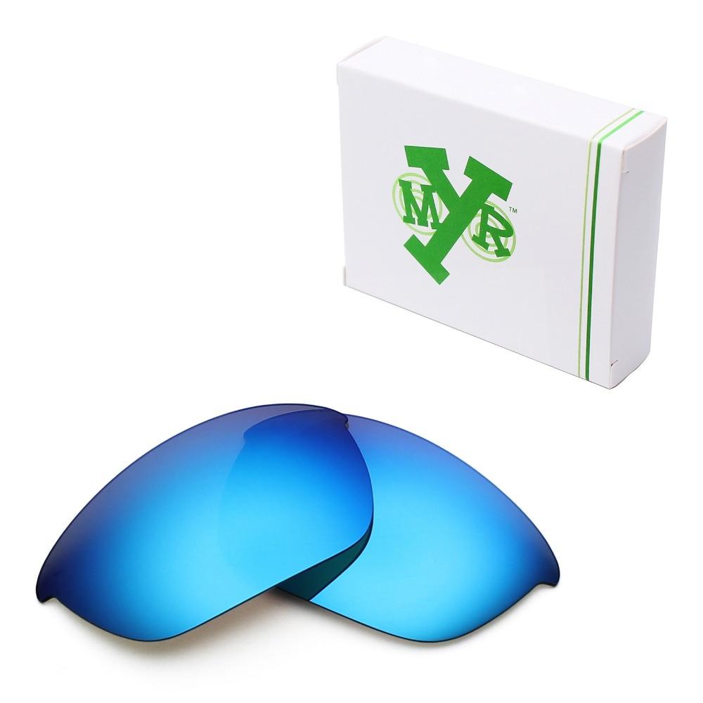 eb0163106264d Mryok POLARIZADA Lentes de Reposição para óculos Oakley Half Jacket 2.0  Óculos De Sol De Gelo Azul