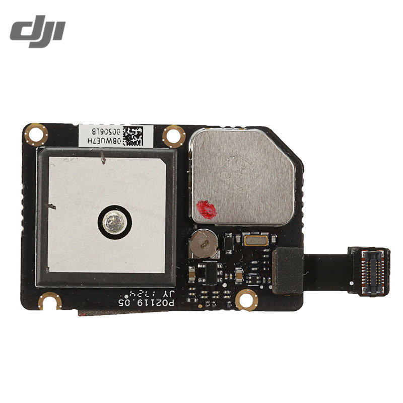 DJI Spark Drone GPS Module For FPV 12MP Camera Drone Replace Accesssories Flight Controller Spare Part arsuxeo ar608s quick drying cycling polyester jersey for men fluorescent green black l