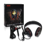 Luxury 5 in 1 Gaming Headset 3.5mm Headphone with Microphone LED Light for PlayStation 4 PS4 Tablet PC