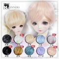 1/3 1/4 1/6 BJD wig short nature curly  hair  doll  DIY High-Temperature Wire for BJD SD dollfie