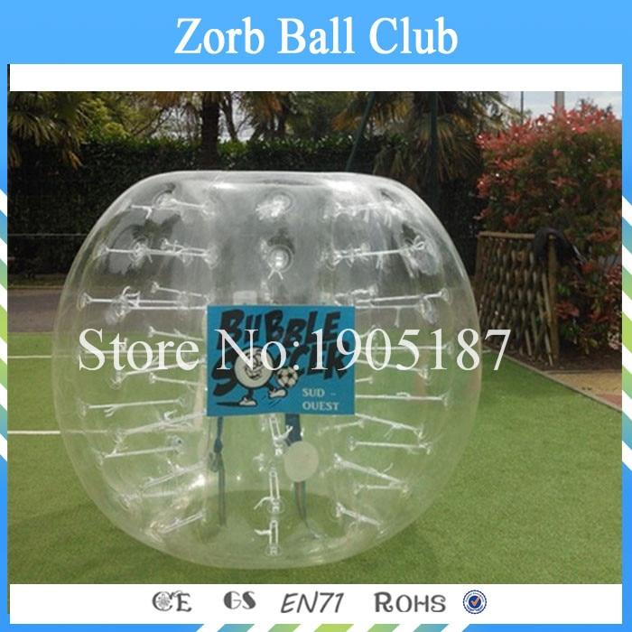 Free Shipping 1.5m Bubbe Football,Zorbing Ball,Soccer Bubble Ball