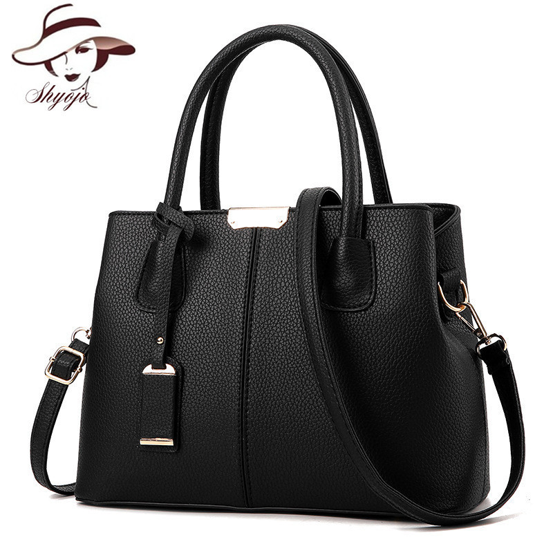 Hot sale solid color fashion casual women bag famous for Designer badmobel sale