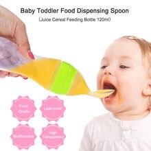 Детская Бутылочка герметичная ложка для дозирования продуктов