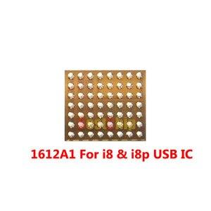 Image 3 - 5 sztuk/partia nowy 1612A1 56 pinów dla iphone X/8/8 plus ładowarka ładowania U2 Hydra USB IC układu